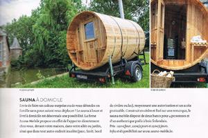 Sauna mobile